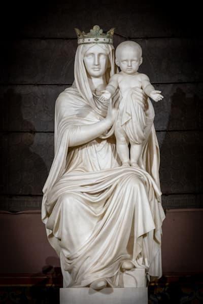 Marie et Jésus de la chapelle la Vierge à Saint Ambroise
