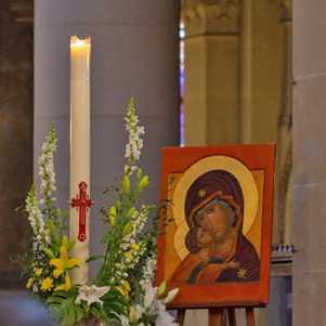dimanche saint cierge