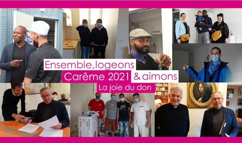 carême 2021 logement FIPL