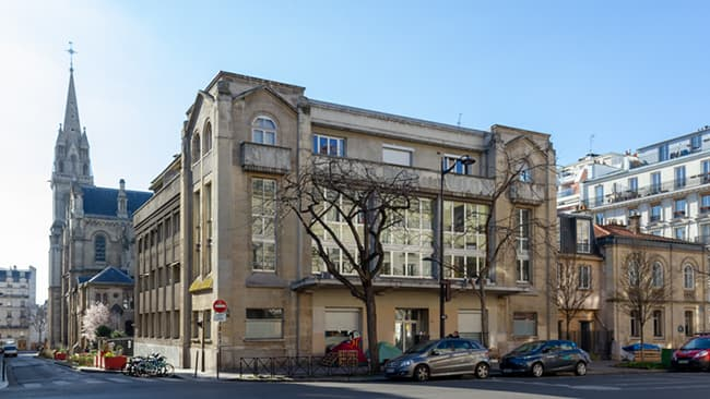 nouvelle maison paroissiale au 33 avenue Parmentier