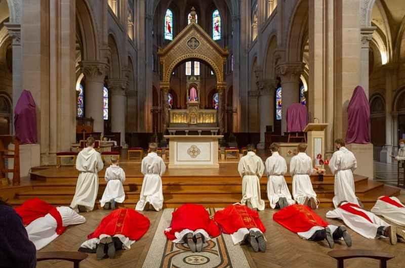 Office de la Passion du vendredi saint, photos du 02/04/2021