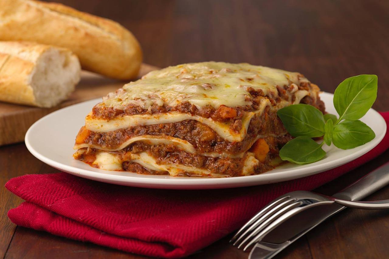 Goutez la lasagne des Pionniers
