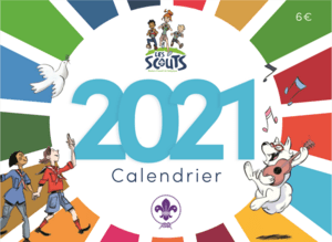 Calendrier Scout couverture icone