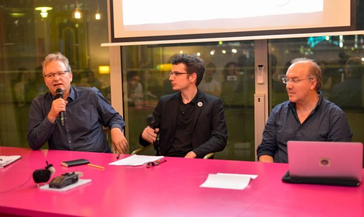 Debat resterons nous creatif demain - Ariel Kyrou - Alain Damasio