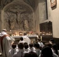 Jeudi Saint à l'autel du Calvaire