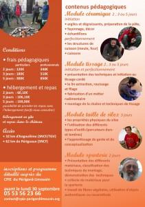 flyer Formation Préhistoire Varaignes octobre 2014-002-002