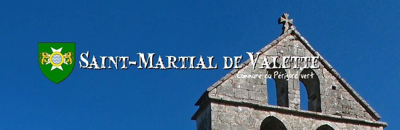 ÉGLISE DE ST MARTIAL DE VALETTE  12e siècle