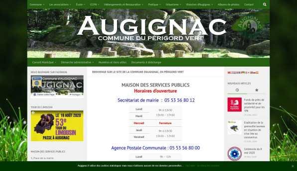 Mairie d'Augignac - augignac.fr