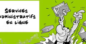 Les services administratifs en ligne