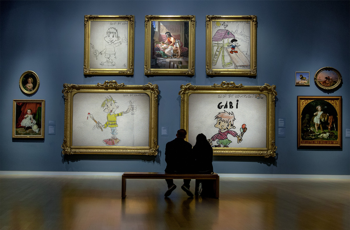 You are currently viewing Cloture du concours de dessin Gabi