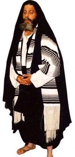 Habit typique de Pharisien Source : Biblehistory.com