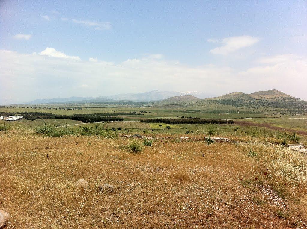 A travers le Golan