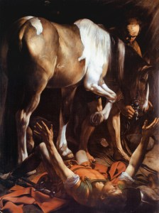 Conversion de St Paul - Caravaggio