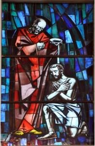 Le baptême de Saul