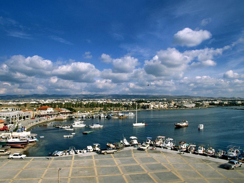 Le port de Paphos