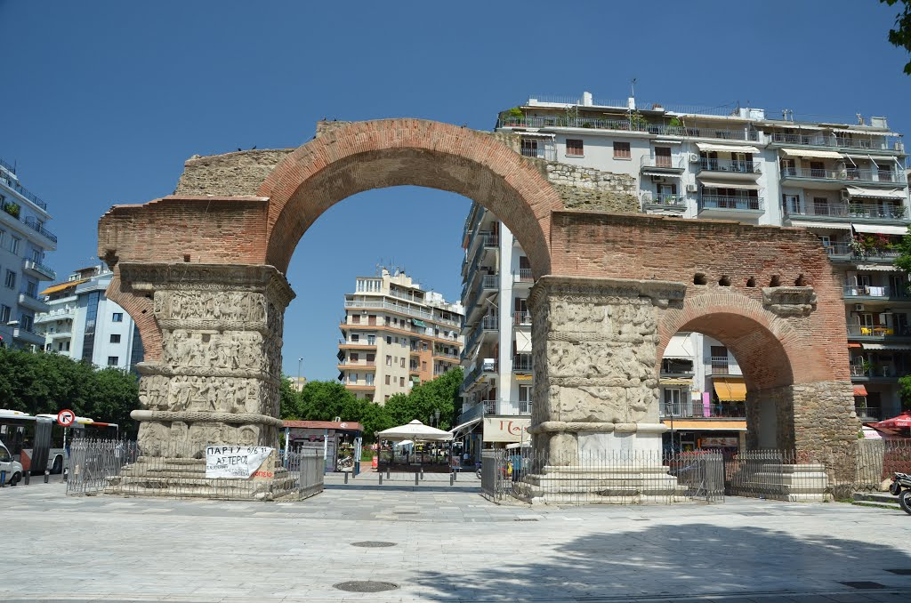 L'arc de triomphe de Galère