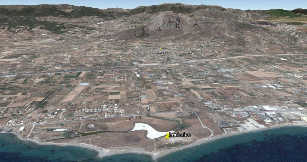 Le port  de Lechaion