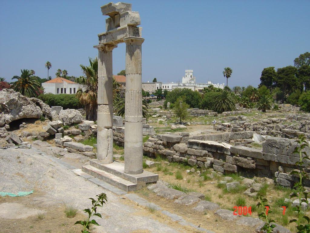 Ruines de l'antique Cos