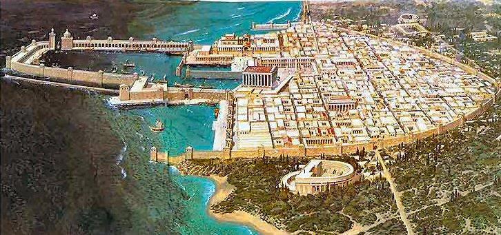 Reconstitution de Césarée maritime