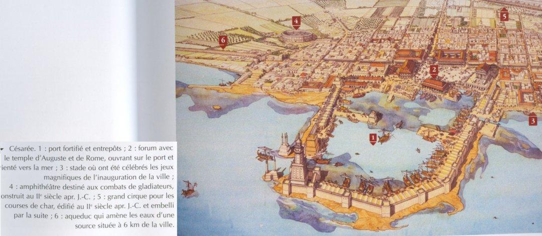 Port antique de Césarée