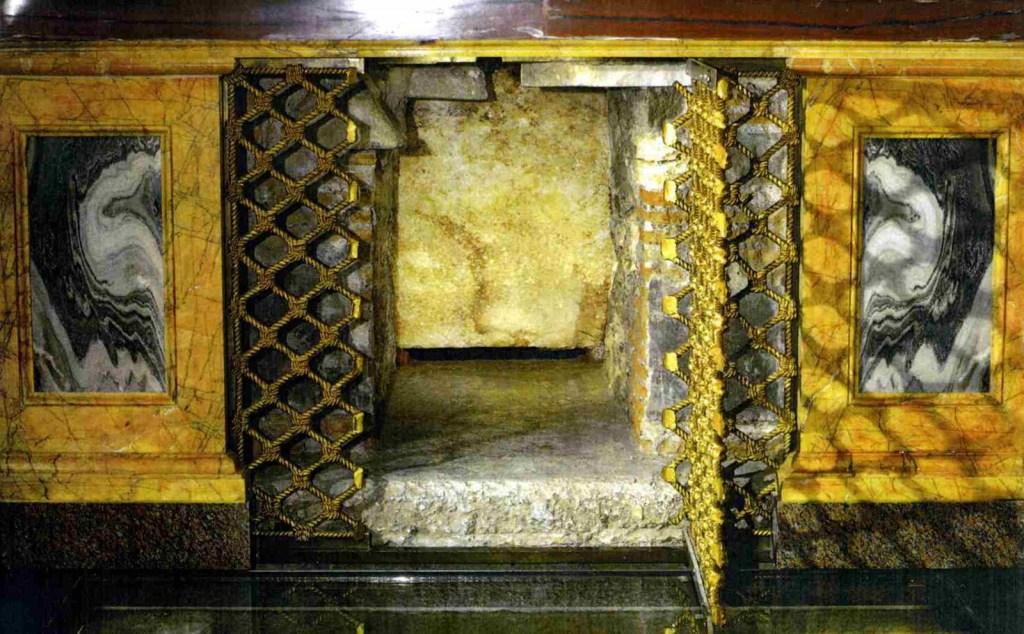 Le sarcophage de St Paul