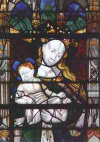 La Vierge à l'enfant (15e S.)