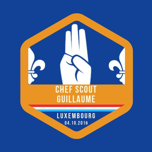 Promessa do Chef Scout Guillaume – 04.10.2019