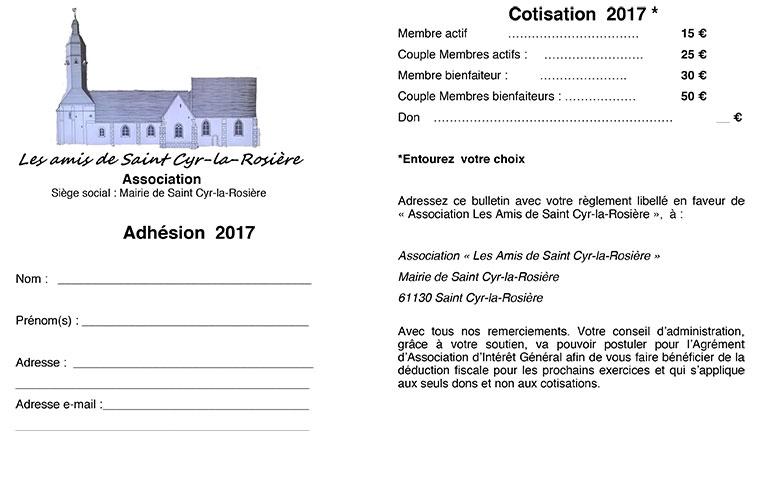 bulletin d'adhésion les amis de saint cyr