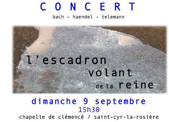 concert à Clémencé 9 septembre
