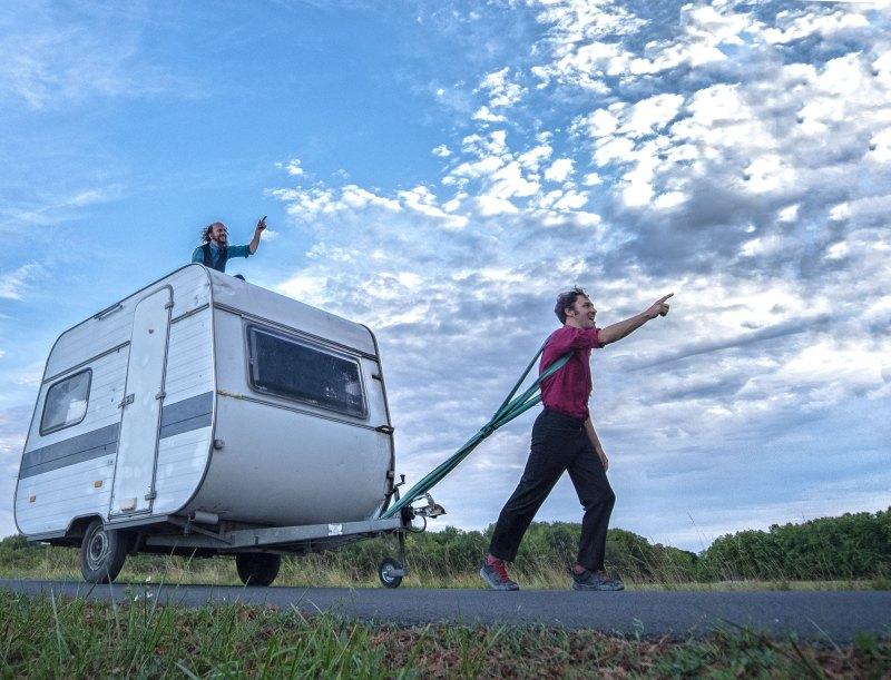 Soirée camping sauvage