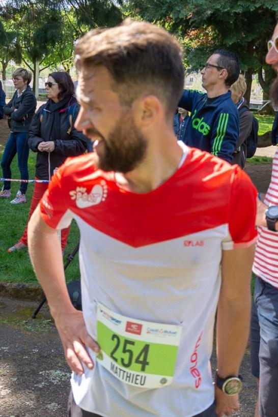 Matthieu Gandolfi a été le plus rapide à boucler l'épreuve de 19 km