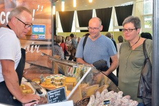 Le parcours géographique du goût et le salon de la Gastronomie n'ont pas manqué d'attirer des milliers de festivaliers... et de gourmands !