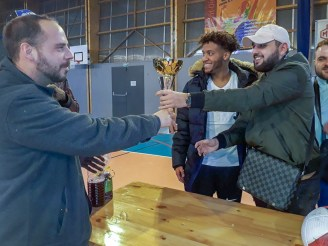 L'équipe de Saint-Roch a remporté le tournoi.