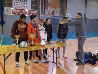 L'équipe de Foucharupt a terminé à la seconde place.