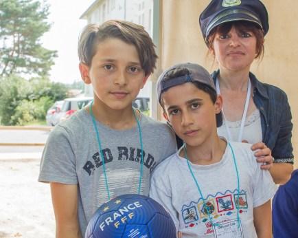 2èmes gagnants : Aslami et Samuel