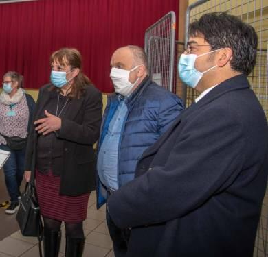 Photos centre de vaccination Anould-bis