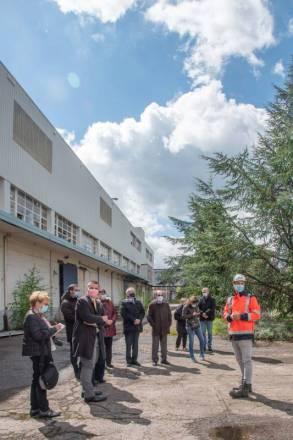 lancement des travaux préparatoires sur les rives droite et gauche de la friche industrielle du Souche-3
