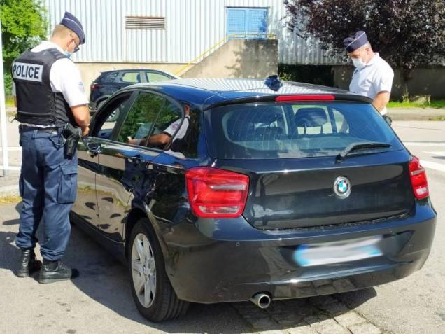 Les policiers ont procédé à des contrôles de véhicules.