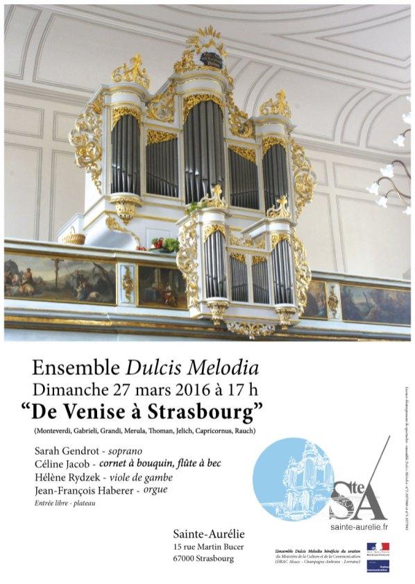 De Venise à Strasbourg - Dulcis Melodia