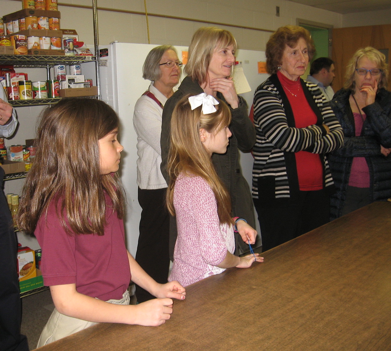 Christian Formation Food Bank visit2016