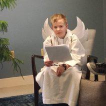 Christian Education Christmas play reading