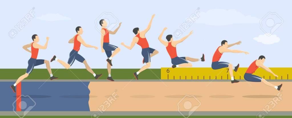 4 Teknik Dasar Lompat Jauh Lengkap Beserta Penjelasannya