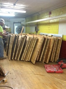 Selling bowling alley lanes for table tops
