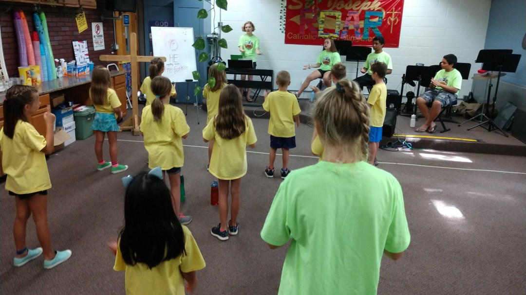 participants in 2019 VBS