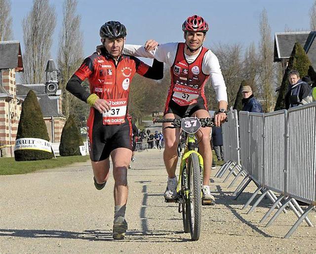 Galerie portrait Bike and Run : Cyril Pilatte