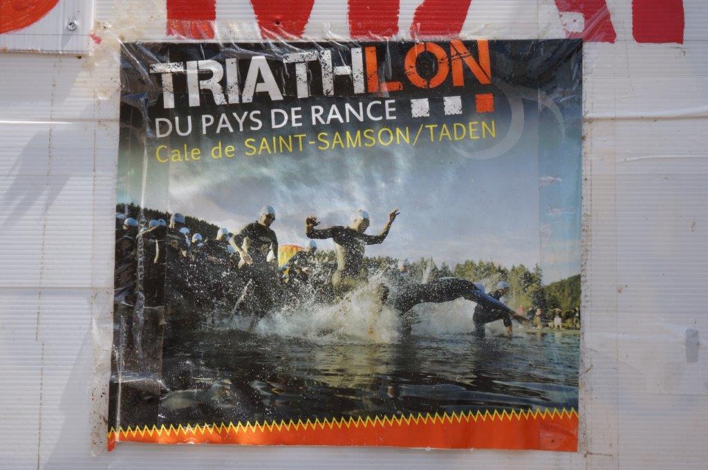 Triathlon du Pays de Rance à Taden 2016