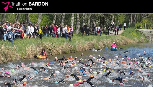 Triathlon BARDON Saint-Grégoire