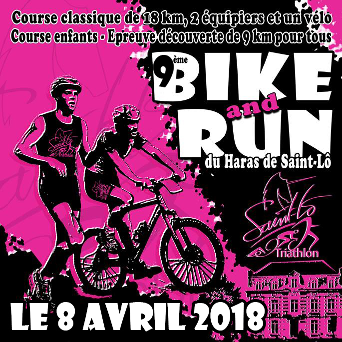 Inscription Bike and Run 2018