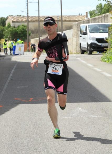 Cyrille Guillard – Stage Paratriathlon et 1 er Triathlon
