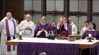 The Fifth Sunday in Lent 2019